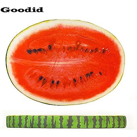 Goodid colchón colcholeta para perro y gato, cama cómoda de diseño gracioso de fruta para mascotas (90*62*8cm,