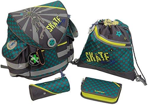 Ranzenset Ergo Style plus Skateboarding