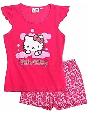 Hello Kitty Pigiama corto rosa fucsia