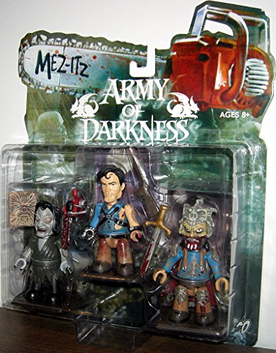Evil Dead Army Of Darkness Horror Film Toy Action Figur Box Set mit Esche