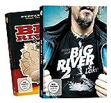 Stefan Seuß Big River + Big River 2 - DVD Set, Wallerangeln Fluss, Angeln auf Wels an Weser, Elbe, Wallerfilm, Welsfilm, Angelfilm, Angeldvd, Wallermontagen, Welse fangen