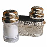 Pakwan new design all in one silvermultipurpose salt,pepper shaker or dispenser