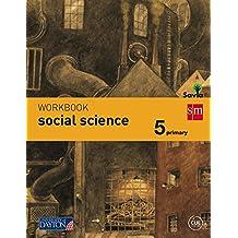 Social science. 5 Primary. Savia. Workbook - 9788415743965