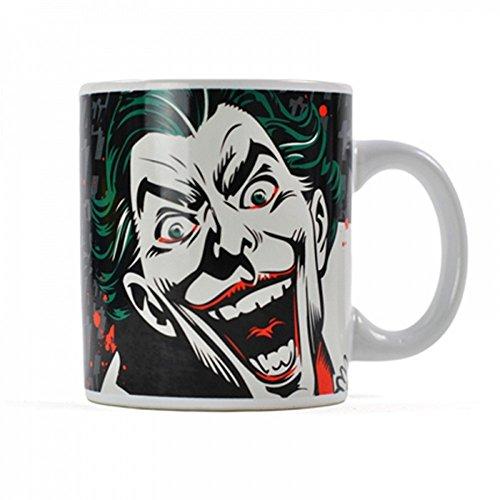DC Comics-Batman-Taza de cerámica (-Joker Face-Caja de Regalo
