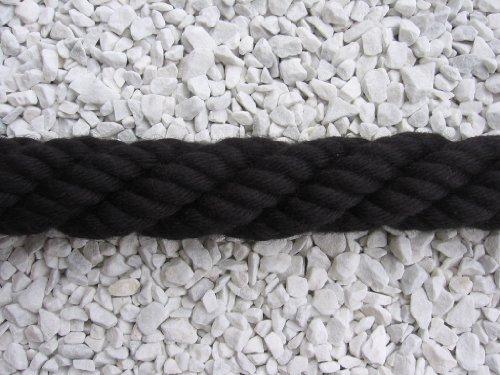 Handlaufseil Absperrseil Handlauf Seil 40mm Fb. schwarz
