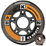 K2 Inline Rollenset mit Kugellagern Wheel 8-Pack/ILQ 5, 72mm, 3053008.1.1