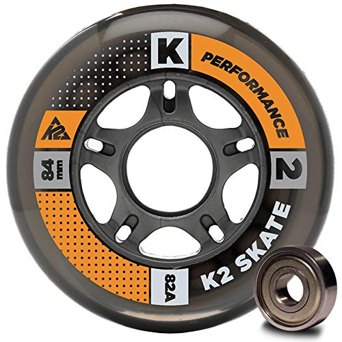 K2 Inline Rollenset mit Kugellagern Wheel 8-Pack/ILQ 7, 80mm, 3053010.1.1