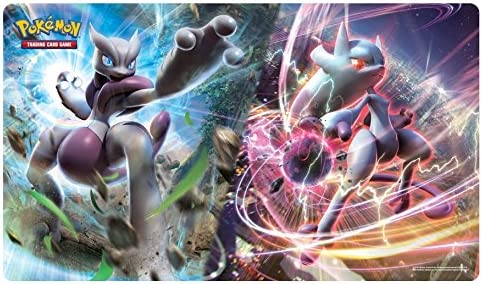 Pokemon Mega Mewtwo X and Y Play Mat - Playmat | Conception Habile