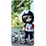 FROST IMAGES High Quality Silicon Printed Designer Back Cover for Panasonic ELUGA RAY X