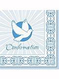 Blau strahlend Kreuz Konfirmation Servietten Badger Inks Tonerpatronen