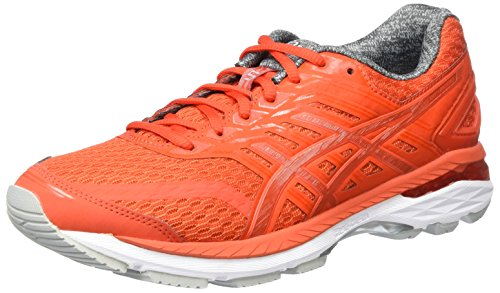 Asics Gt-2000 5, Chaussures de Gymnastique Homme, Rose (Orange/Mid Grey/White), 45 EU