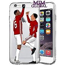 MIM Global Football Protectores Case Futbol - Soccer iPhone Case - Todos los Modelos de iPhone