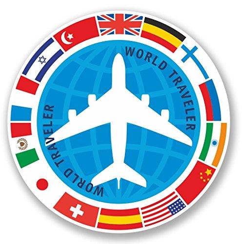 2-x-world-traveler-vinyl-aufkleber-aufkleber-laptop-reise-gepack-auto-ipad-schild-fun-4348-10cm-100m