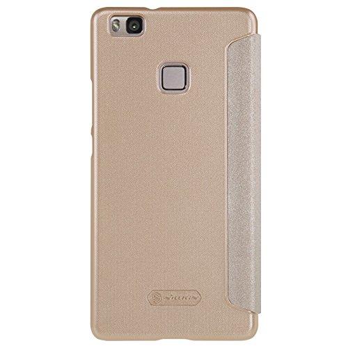 Nillkin Sparkle Custodia in Pelle per Huawei P9 Lite, Oro