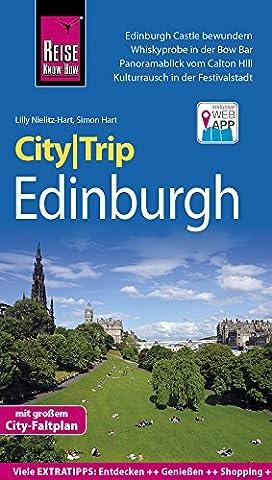 Reise Know-How CityTrip Edinburgh: Reiseführer mit Faltplan und kostenloser Web-App