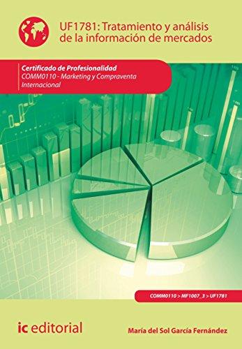 Tratamiento y análisis de la información de mercados. COMM0110 por María del Sol García Fernández