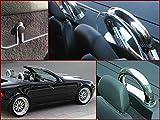 K & R Roadsterbügel Überrollbügel Mercedes SLK R170 170 inklusive Acryl Windschott