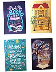 MACRO Book Maniac Magnetic Bookmark - Set of 4