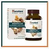Himalaya Boswellia Cápsulas de Boswellia Serrata (Incienso Indio)| Suplemento para la movilidad y la flexibilidad de las articulaciones| Eqv. 900mg de Polvo | 60 cápsulas vegetales