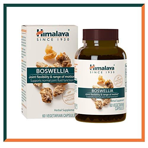 Himalaya Boswellia Cápsulas de Boswellia Serrata (Incienso Indio)  Suplemento para la movilidad y...