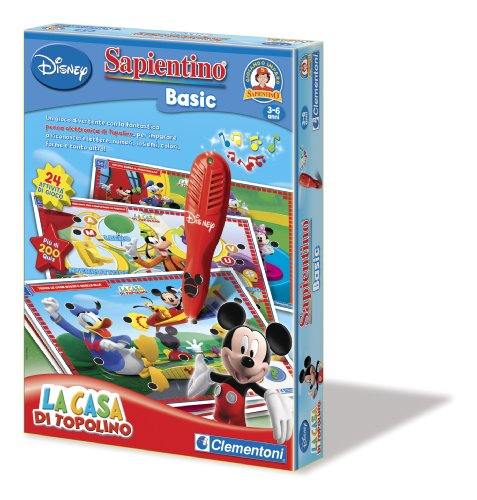 Clementoni - Pen Basic Mickey Mouse Clubhouse Penna Basic