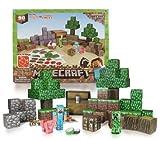 Minecraft 16721 - Papierset zum Selberbasteln, Overworld Deluxe Set, 90 Teile