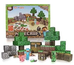 Minecraft Paper Craft Overworld Deluxe Pack