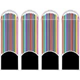 #6: KABEER ART ® 48 Pieces Colored Lead Refills, 2.0 mm, 90 mm Tall, Pre-Sharpened, 12 Colors