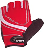 Chiba Damen Fahrradhandschuhe Lady BioXCell Pro, Rot, M, 30972