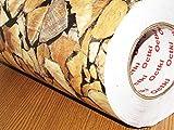 #6: CVANU Self Adhesive Wood Vinyl Wallpaper Waterproof Old Furniture Vinyl Stickers Wooden Door Wardrobe Desktop PVC Wall Papers CV-55 24''x240''inch