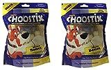 #8: Choostix Pressed Dog Bone (Mini, 6 Pieces, 3-inch, Pack of 2)