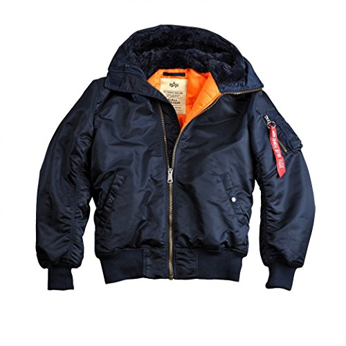 Alpha Industries MA-1 w.o. fur Jacke L rep blue