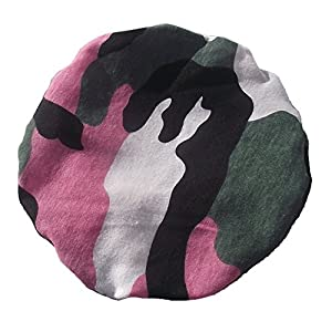 Simple Stoma Cover Ostomy Bag Cover Camouflage Pink – für Salts (TM) Confidence® Natural Advance Mini