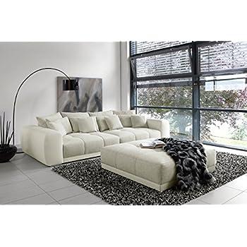 Riess Ambiente Modernes XXL Sofa GIANT LOUNGE in greige Wohnzimmer ...