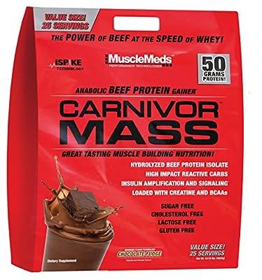 MuscleMeds 4.5Kg Chocolate Carnivor Mass from MuscleMeds