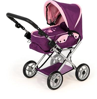Cochecito Combi para muñecas Maxi Ciruela, purple de Bayer Design