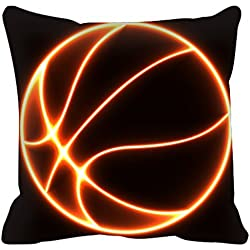 Deportes Just Do It Baloncesto Slam Dunk Funda de almohada Funda de cojín 18 * 18 pulgadas