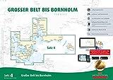 Sportbootkarten Satz 4: Großer Belt bis Bornholm (Ausgabe 2018) -