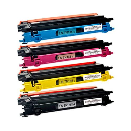 Preisvergleich Produktbild 4 Toner für Brother TN-135 DCP-9040 9042 9045 CN CDN HL-4040 4050 4070 CDNLT CN CDN CDW MFC-9440 9445 9450 9840 CDW CN CDN CLT