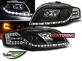 Audi A4B7Scheinwerfer Avant–Türer LED Tube Lights schwarz