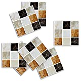 Adhesivo para azulejos de Pared Cocina Pegatinas de Vinilo Art Wall Decal-Sencillo Vida, Patrón A