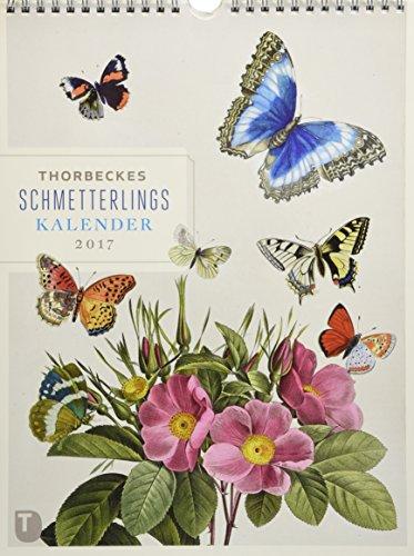 Thorbeckes Schmetterlingskalender 2017 - Wochenkalender mit 56 Blättern