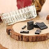 Lorenlli 620 stücke 2,54mm Dupont Draht Jumper Gehäuse Stecker Stiftleiste Gehäuse Kit + M/F Crimp Pins Kit Mit Box