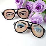 Best Disguise Costumes - Joke Funny Fake Eyes Disguise Glasses for Masquerade Review