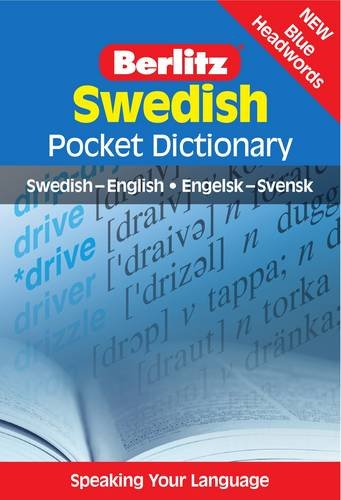 Berlitz: Swedish Pocket Dictionary: Swedish-English = Engelsk-Svensk (Berlitz Pocket Dictionary)
