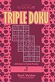 Sudoku Triple Doku - 200 Hard to Master Puzzles 9x9 (Volume 7)