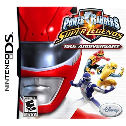 Power Rangers Super Legends - Nintendo DS by Disney Interactive Studios