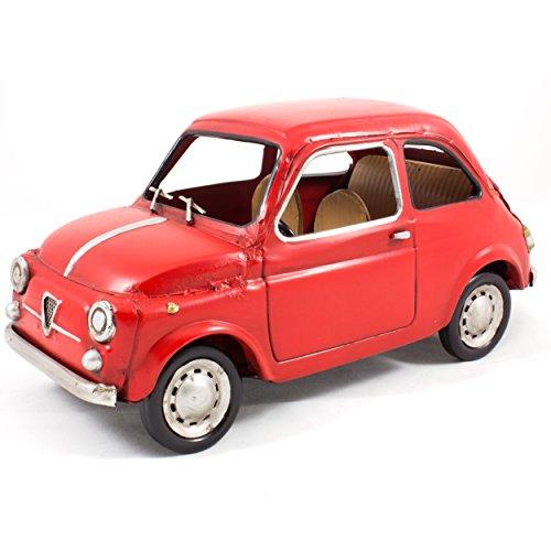 Modèle réduit métal vintage - Voiture Fiat 500 D