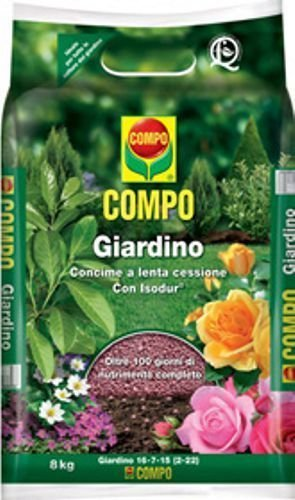 CONCIME -COMPO GIARDINO- (kg 8) con isodur