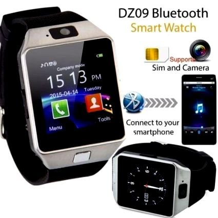 VOLTAC` ™ Bluetooth Smart Watch DZ09 Phone With Camera and Sim Card & SD Card Support With Apps like Facebook and WhatsApp Touch Screen Multilanguage Android/IOS Mobile Pattern #134207